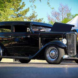 Customized black 1929 Hudson Essex