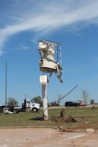Moore Branch Tornado Sign