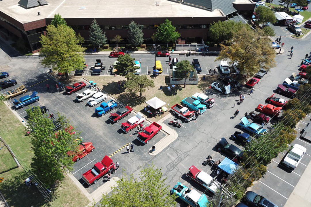 2018 Miracle Car Show Drone Shot