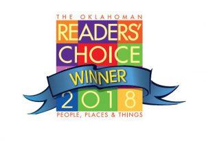 The Oklahoman Readers' Choice Winner 2018 logo