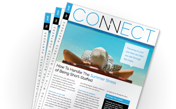 Connect newsletters