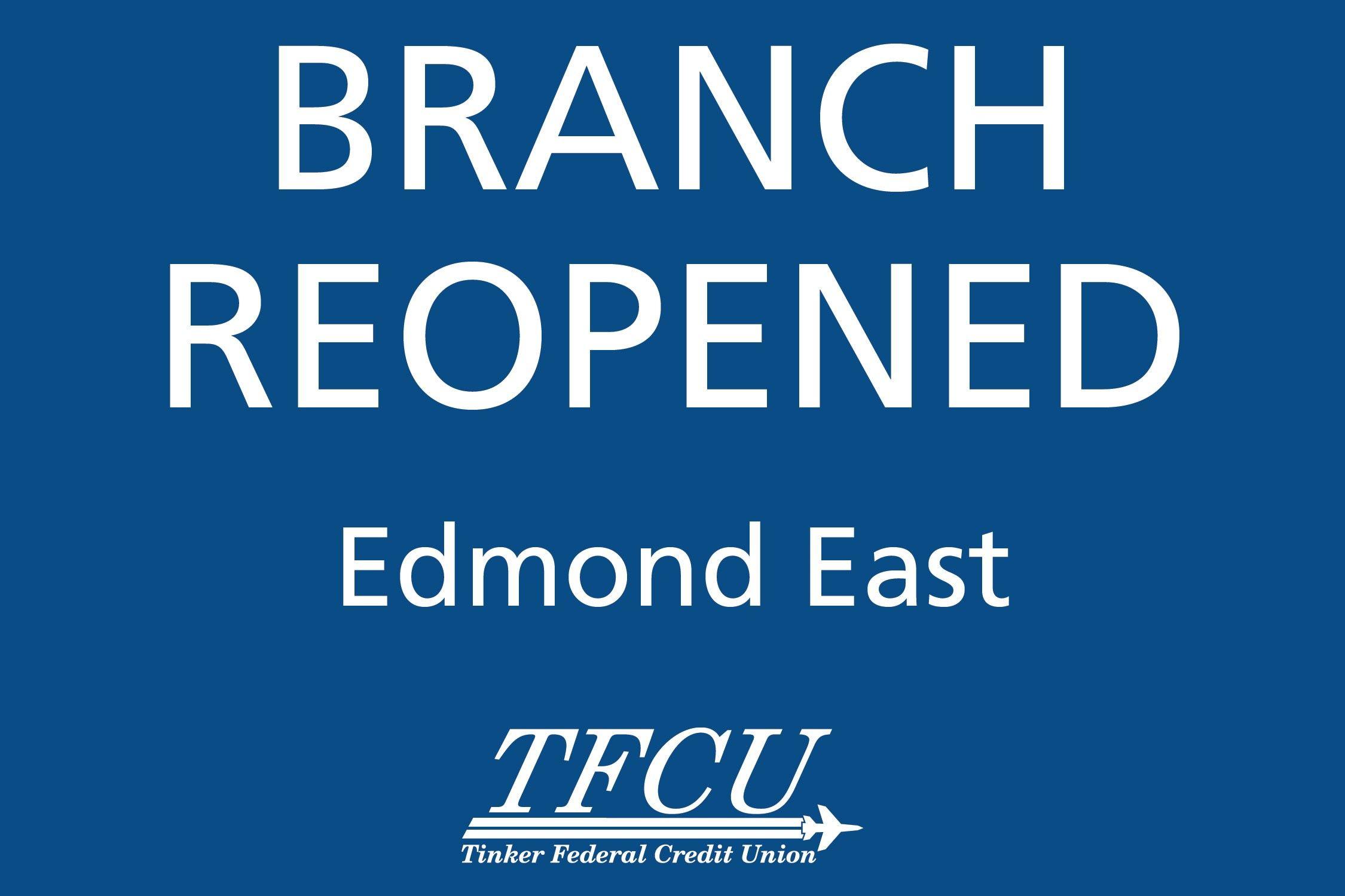 Edmond East Reopened