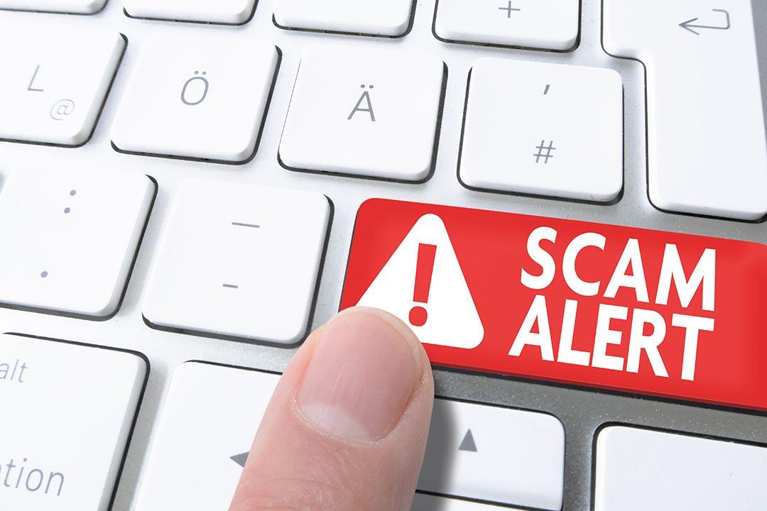 Scam Alert Keyboard