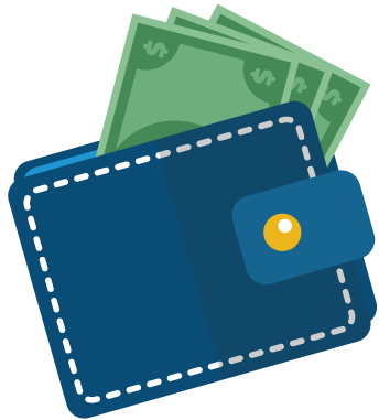 Buck the norm wallet icon