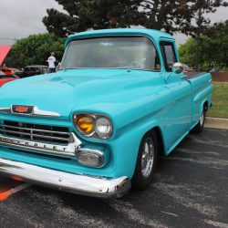 Beautiful blue truck at the 2019 TFCU Miracle Car Show