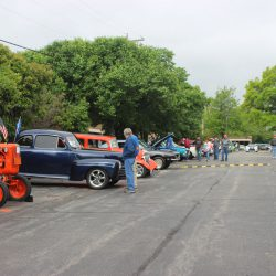 Row of beautiful cars at the 2019 TFCU Miracle Car Show
