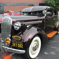 Classic passenger car at the 2019 TFCU Miracle Car Show