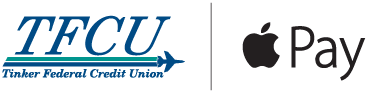 TFCU and apple pay logo