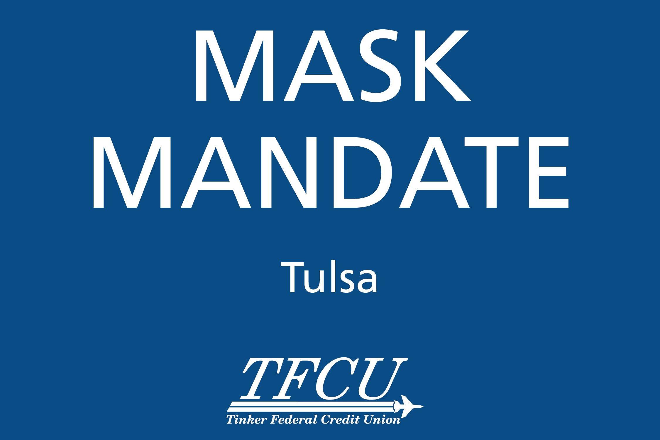 Tulsa Mask Mandate