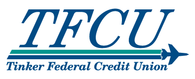 Graphic of TFCU Logo for Dark Header
