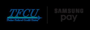 TFCU and Samsung Pay Logos